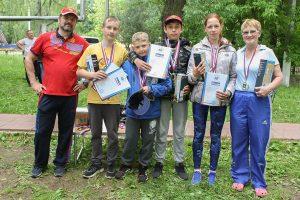 Серебрянные призёры в туристской эстафете. Команда гп. Богородское