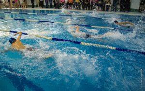 Соревнования по плаванию среди трудовых коллективов